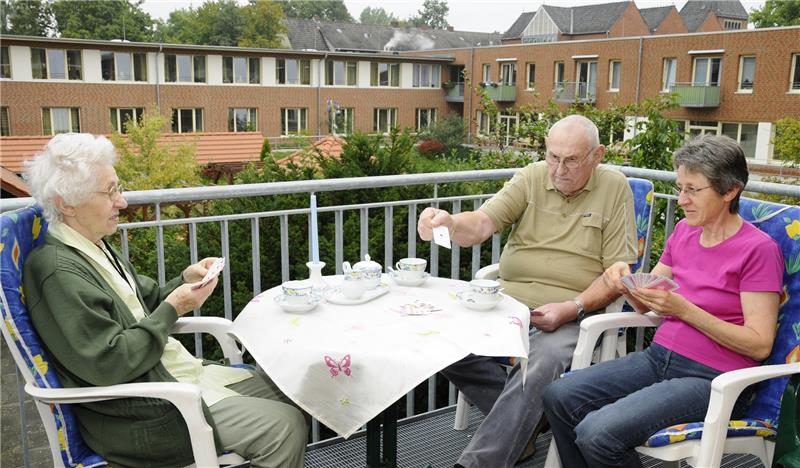 Senioren Wohngemeinschaft Caritas Bremende
